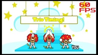 36a. [60 FPS] The Clappy Trio - Extra Games - Rhythm Heaven Fever