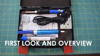 Sywon 6-in-1 60W Soldering Iron Kit First Look and Overview