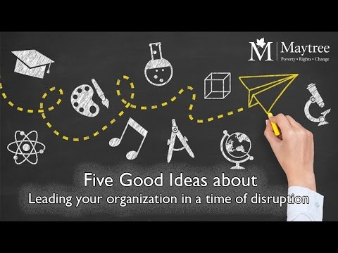 Five Good Ideas about Leading your organization in a time of disruption with Andrea Cohen Barrack