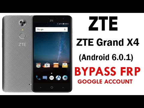 ZTE Grand X4 Z957 (Android 6.0.1) Google Account lock Bypass Easy Steps & Quick Method Work 100%