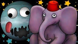 МАЛЕНЬКИЙ СЛОНЕНОК и Кид #23 Гигантский слон в Tasty Planet Forever съел всех животных на крутилкины