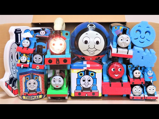 Thomas & Friends Lots of fun toys come out of the box Trackmaster Plarail RiChannel