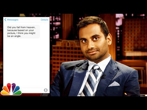 First Textual Experience with Aziz Ansari: You Might Be an Angle ...