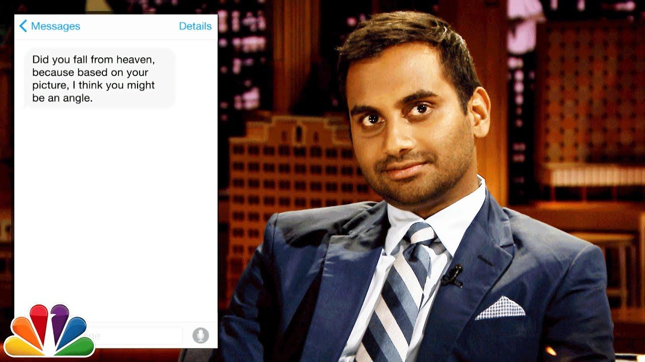 Aziz ansari text message
