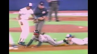1992 World Series - Kelly Gruber//Deion Sanders Triple Play