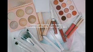 ColourPop買好多開箱分享 | Colourpop Swatches and Review