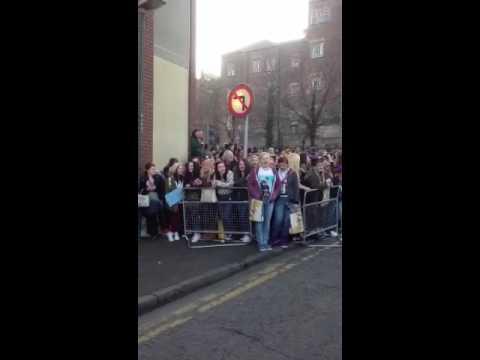 Nottingham Post meet Justin Bieber fans