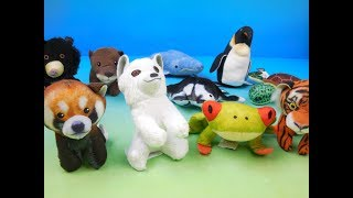 2018 NATIONAL GEOGRAPHIC KIDS SET OF 10 McDONALDS HAPPY MEAL PLUSH TOYS VIDEO REVIEW