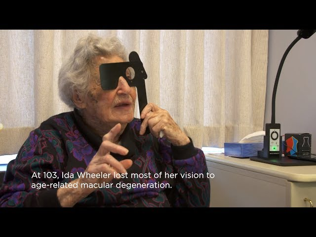 Vision Rehabilitation Revitalizes 103-Year-Old Woman