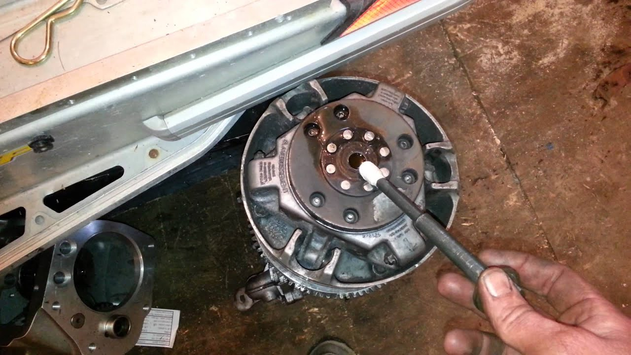 small resolution of clutch removal without puller