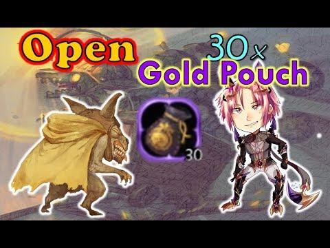 [Open] 30x Gold Pouch (Unique) - SpeedColie -【Dragon Nest SEA】