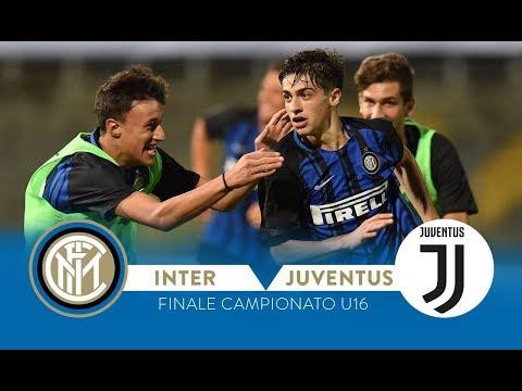 Inter-juventus 3-0   highlights   under 16 championship final