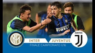 Inter-juventus 3-0 | highlights | under 16 championship final