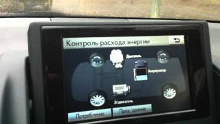 обзор электроники в Lexus CT200h
