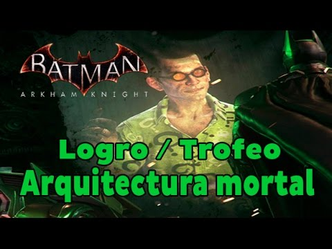 Guía De Logros De Batman Arkham Knight Xbox One