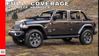 2018 Jeep Wrangler Sahara, Rubicon, Test Drive, Interior Full Coverage