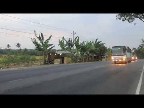 Di kawal Polisi -18 bus OBL | All mercedes benz engine