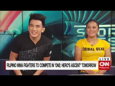 Filipino MMA fighters to compete in 'ONE Hero's Ascent' tomorrow