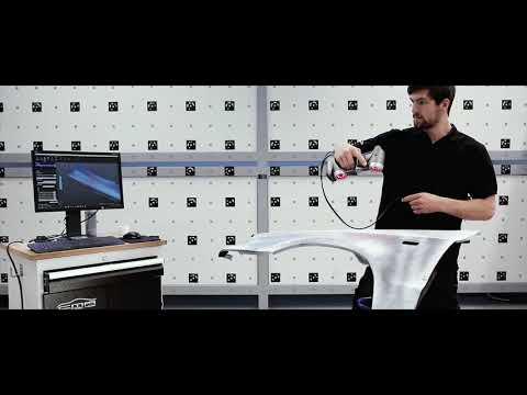 3D Scanning with Creaform & evaluation - CMA Automotive-Lösu