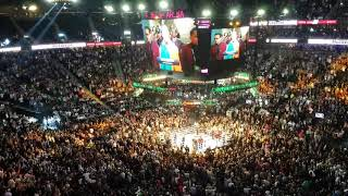 Conor McGregor Entrance at Mayweather vs. McGregor in T-Mobile Arena