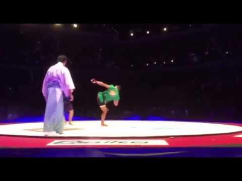 Ganryujima: 28 sec Capoeira KO by Marcus Aurelio