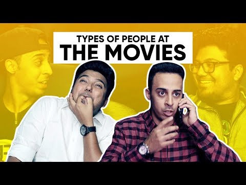 Types Of People At The Movies | People In Cinemas | Jordindian