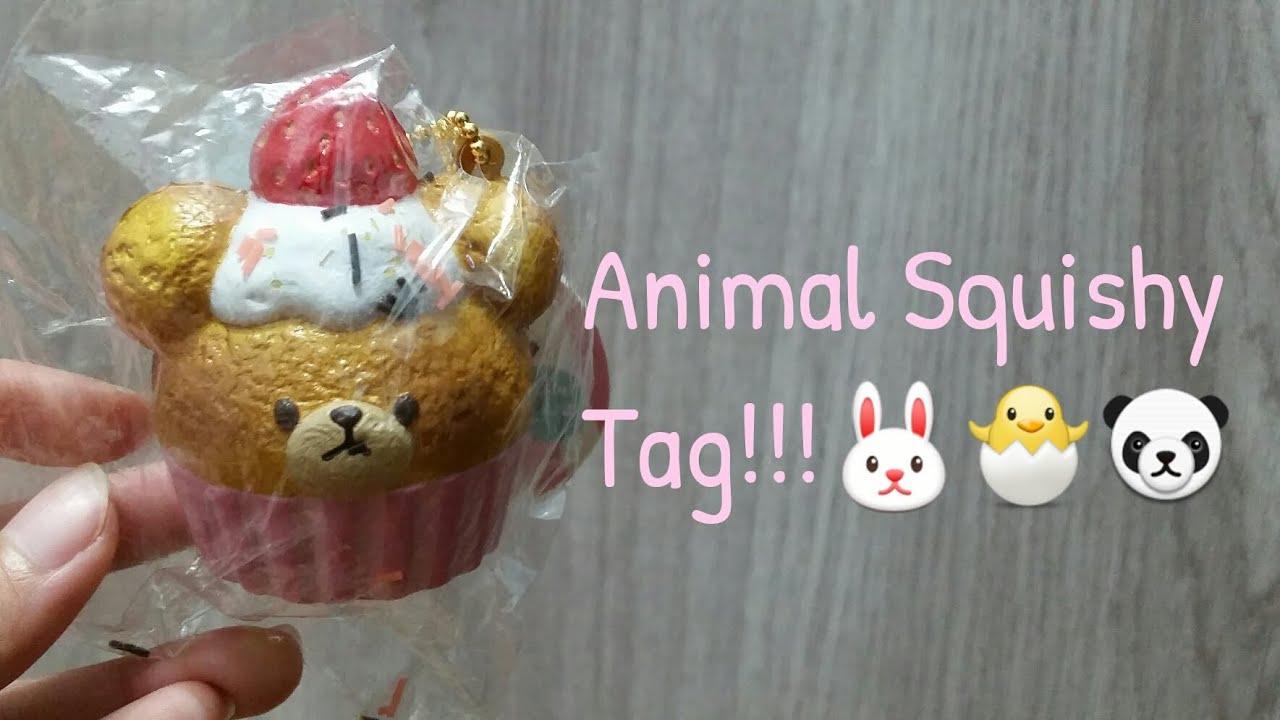 Tkb Squishy Tag Questions : Animal Squishy Tag!!!?????? - YouTube