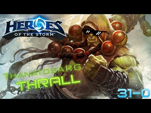Heroes of the Storm: Thrall match