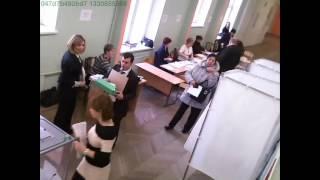 Вбросы бюллетеней на УИК № 92 г  Санкт Петербург