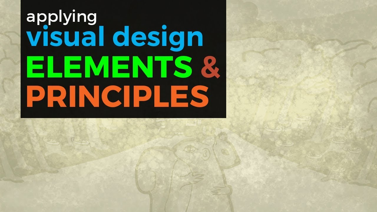 Visual Design Elements And Principles YouTube - Graphic design elements and principles