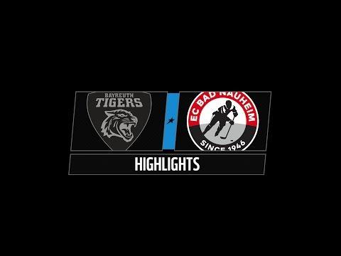 DEL2 Highlights 17. Spieltag | Bayreuth Tigers vs. EC Bad Nauheim