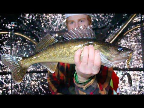 Northern Ontario Walleye Ice Fishing