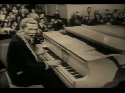 Jerry Lee Lewis -Great balls of fire & Breathless (Live 1958)