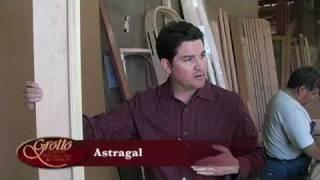 Coastal Custom Wine Cellar Door: Door Astragal