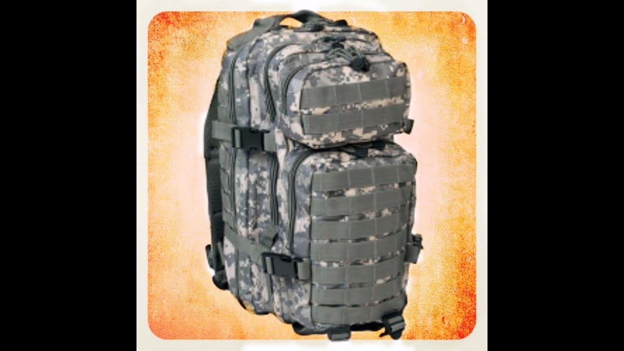 93b6c7a61c batoh US Assault I.UCP+výbava - YouTube