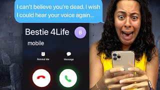 Texting My DEAD Best Friend!!! *SHE CALLED ME* (Scary Text Message Story)