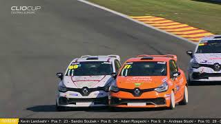 Spa Francorchamps - Rennen 1 - Renault Clio Cup Central Europe 2019