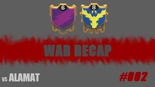 War Recap #002 vs ALAMAT | Clash of Clans