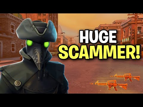 Exposing a Really Dumb Scammer! (Scammer Get Scammed) Fortnite Save The World