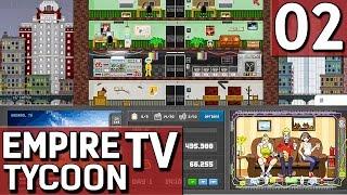 Empire TV Tycoon #2 Aus Fehlern lernen Der TV Sender Manager