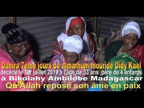 DahiraToiriquat Chadhouli Yachroutuya à Bekolahy Ambilobe Madagascar juillet 2019,filmé par:HABIBI