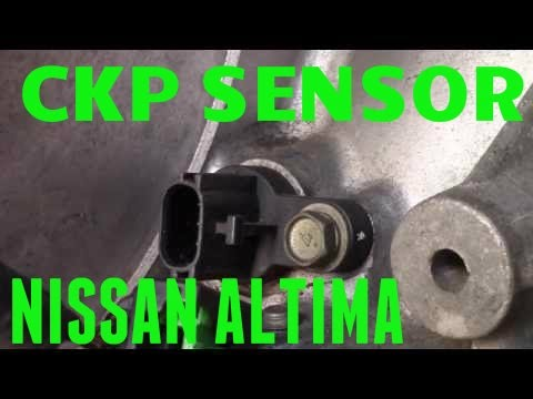 hqdefault 2002 nissan altima crankshaft position sensor connector removal  at aneh.co