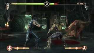 Как сделать x-ray в Mortal Kombat 9 на Pc