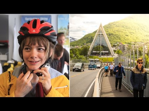 Tromso, Norway & The Arctic Coast Cycling Tour - EP. #125