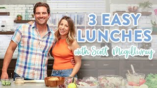 3 Healthy Lunch Ideas for Work and School with Scott McGillivray
