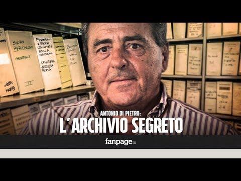 """Download Nell'archivio segreto di Antonio Di Pietro: """"Non sono riuscito ad arrestare il tempo che passa"""""""