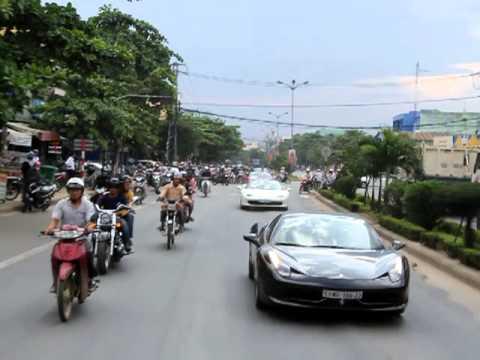 Đoàn Siêu Xe tiến vào Đà Nẵng - P2