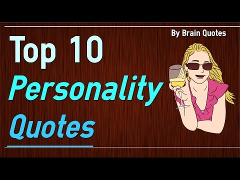 Top Personality Quotes About Being Yourself