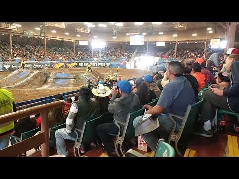 Monster Jam Albuquerque NM sunday ATV elimination racing