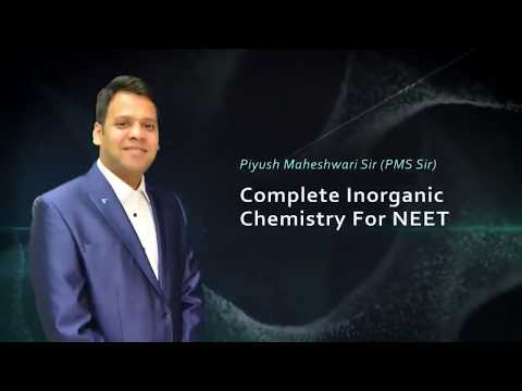 Metallurgy of Inorganic Chemistry for NEET by PMS Sir